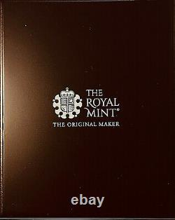 2020 GREAT BRITAIN U. K. £5 2 Oz SILVER 3 GRACES NGC PF70 FR BOX & COA