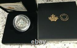 2020 Queen Elizabeth's Brazilian Aquamarine Tiara 1oz. 9999 Silver Coin Canada