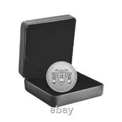 2021 Canada 1 oz Queen Elizabeth II Lover's Knot Tiara Silver Coin. 9999 Fine