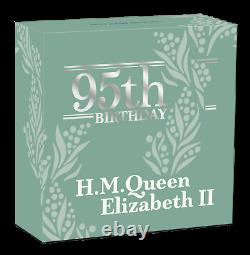 2021 QUEEN ELIZABETH 95th Birthday Silver $1 Proof coin NGC PF70 UC ER. 9999