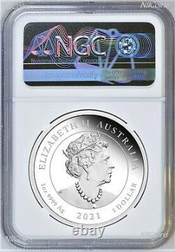 2021 QUEEN ELIZABETH 95th Birthday Silver $1 Proof coin NGC PF70 UC FR. 9999