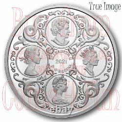 2021 Royal Celebration HM Queen Elizabeth II's 95th Birthday Silver Two-Coin Set