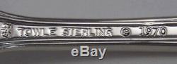 4 Modern Towle Queen Elizabeth I Sterling Silver Salad Forks