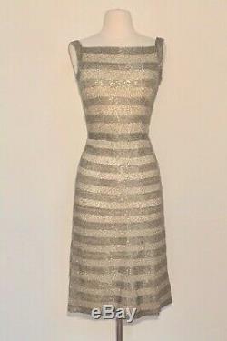 50s RARE SIR NORMAN HARTNELL COUTURE Dress! Queen Elizabeths Royal Dressmaker