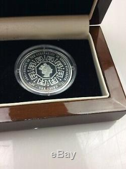 60th Anniversary of the Coronation of Queen Elizabeth II Pure Silver Crown Set