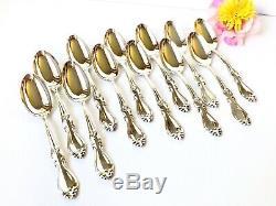 66pcs Towle STERLING SILVER 1970 Queen Elizabeth Flatware Set Forks Spoons Knife