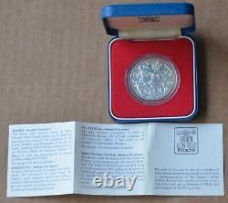 6 February 1977 Queen Elizabeth II Silver Jubilee Commemorative Coin PROOF