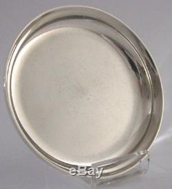 Asprey Solid Silver Dish Coronation 1953 Queen Elizabeth