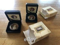 Britannia 2018 Queen Elizabeth And 2019 Victoria 1oz Silver Coins 100 Mintage