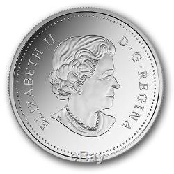 CANADA 2016 $20 1oz FINE SILVER COIN QUEEN ELIZABETH II 90TH BIRTHDAY