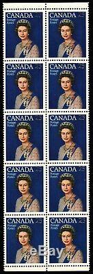 CANADA 704 T1 Queen Elizabeth II Silver Jubilee Untagged (pf21074) $250