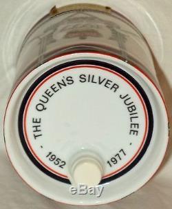 Camus Cognac Limoges Container Queen Elizabeth Silver Jubilee 1977