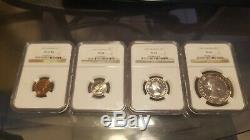 Canada 1957 Silver Dollar Prooflike NGC PL66 Queen Elizabeth II + Similar