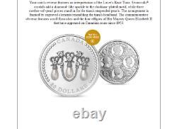 Canada 1 oz. Pure Silver Coin Her Majesty Queen Elizabeth's Lover's Knot Tiara