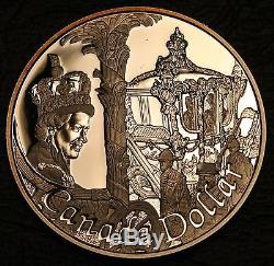 Canada 2002 (1952-) Silver Proof $1 Dollar Queen Elizabeth's Golden Jubilee