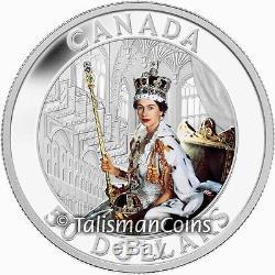 Canada 2013 Queen Elizabeth II Coronation 60th Anniversary $50 5 Oz Silver Proof