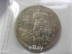 Canadian Gem 1958 Queen Elizabeth II Silver Dollar ICCS Certified MS65