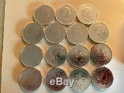 Coin Silver Canadian 1-1/2 ounce BU 2013 Polar Bear withQueen Elizabeth II RARE
