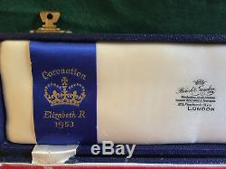 Coronation of Queen Elizabeth 1953 Sterling Silver Letter Opener
