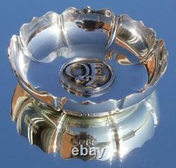 Cunard Line Rms Queen Elizabeth Qe2 Rare Solid Silver Garrards Pin Dish C-1987