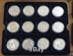 Eightieth Birthday Of HM Queen Elizabeth II Silver Proof Collection 25 Coins