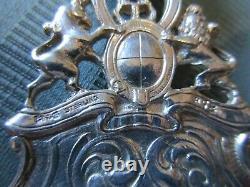 GORHAM QUEEN Elizabeth I Bon Bon SPOON Server H78 STERLING SILVER CAST 9 1/8