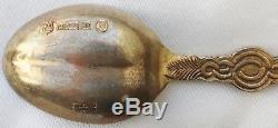 Genuine Sterling Silver Coronation Anointing Spoons 1953 Queen Elizabeth II QEII