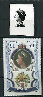 Gibraltar Great Britain Queen Elizabeth Artwork Silver Jubilee 1977