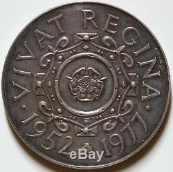 Great Britain 1952-1977 Queen Elizabeth II 57mm Silver Jubilee Medallion