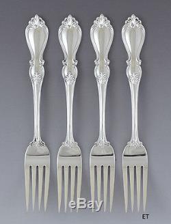 Great set 4 Towle Sterling Silver Queen Elizabeth I Forks 7 1/2 (1/3)