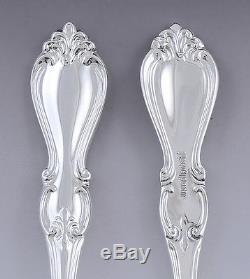 Great set 4 Towle Sterling Silver Queen Elizabeth I Teaspoons (1/3)