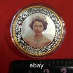 H. M. Queen Elizabeth 11 Silver Jubilee Medal/coin-no Paper Work