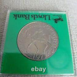 H M Queen Elizabeth II Silver Jubilee Crown 1952-1977 Coin Lloyds bank