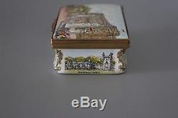 Halcyon Days Queen Elizabeth II Silver Jubilee Limited Edition Trinket Box