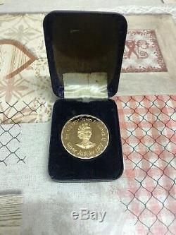 Her Majesty Queen Elizabeth 2 Silver Jubilee 1977 Coin