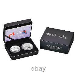 Her Majesty Queen Elizabeth II 95th Birthday Celebration Two-Coin Set