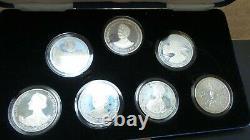 Her Majesty Queen Elizabeth the Queen Mother 1980 Proof Silver Crown Set G299