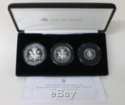JUBILEE MINT Queen Elizabeth II 90th Birthday Silver Proof Coin Collection