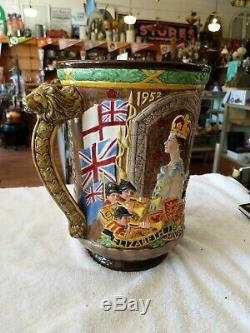 Large Vase Queen Elizabeth Commemorative Silver Jubilee (1952-77)
