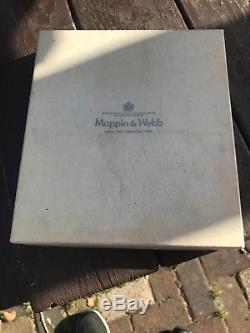 Mappin & Webb 1977 Queen Elizabeth II Silver Jubilee Plate London & Sheffield