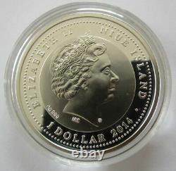 Niue Silver Coin Cocker Spaniel Queen Elizabeth II $1 17.5g Free Shipping(8117N)