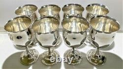 ONE Reed & Barton H120 Queen Elizabeth Sterling Silver Water Goblet 1952