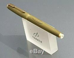 Parker 75 Uninked Ltd Edition R. M. S Queen Elizabeth Med Nib Converter 1674/5000