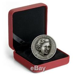 Pure Silver Coin Her Majesty Queen Elizabeth II Matriarch of the Royal Family
