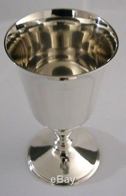QUALITY QUEEN ELIZABETH SOLID SILVER ROYAL JUBILEE GOBLET CHALICE 1977 156g