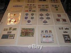 QUEEN ELIZABETH II 25th Anniversary Accession 1977 Silver Jubilee Stamp Album QE