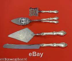QUEEN ELIZABETH I BY TOWLE STERLING SILVER DESSERT SERVING SET 4-PC HHWS CUSTOM