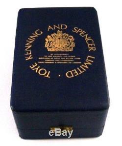 QUEEN ELIZABETH SOLID SILVER ROYAL JUBILEE GOBLET 1977 142g CASED MINT