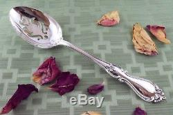 QUEEN ELIZABETH Slotted Serving Spoon 8 5/8 Towle Sterling