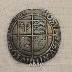 Queen Elizabeth 1st silver hammered shilling coin I